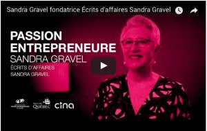 Vidéo Sandra Gravel