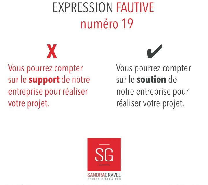 Expression fautive 19