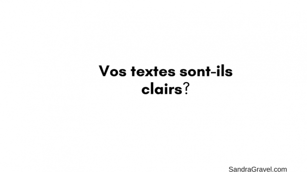 Textes clairs