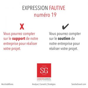 Expression fautive 19